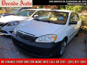 2005 Toyota Corolla for Sale in Bladensburg, MD