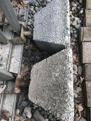 Free Balcony or deck support concrete footings pedestals for Sale in Kirkland, WA