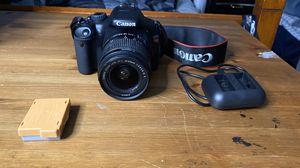 Canon Rebel T2i w/o memory card for Sale in Lake Stevens, WA