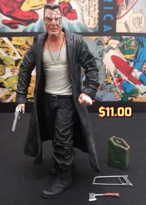 "NECA Mickey Rourke Marv Sin City Action Figure & Gas Can Saw Ax 7.5"" for Sale in Alameda, CA"