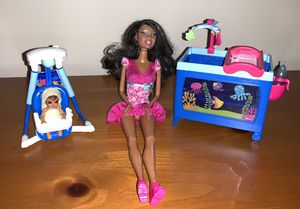 Barbie I Can Be Baby Caregiver Set for Sale in Boca Raton, FL