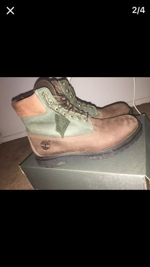 Beef n broccoli timberlands for Sale in Cleveland, OH