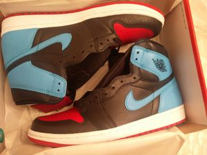 Air Jordan 1 Retro High OG NC To CHI UNC Chicago CD0461-046 Size 11W/9.5M for Sale in Brooklyn, NY