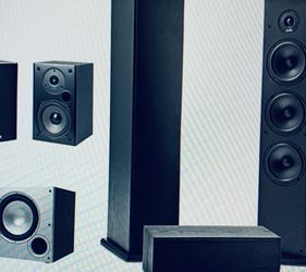 Home Theater w Subwoofer and Pioneer Receiver BEST PRICE !! Free Delivery or Pick Up for Sale in Old Bridge Township,  NJ