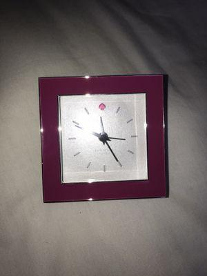 Kate Spade Lenox Cross Pointe Pink Alarm Clock for Sale in Glenwood, MD