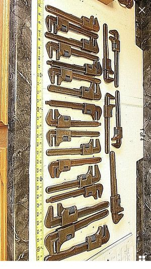 23-vintage wrenches $100 for all for Sale in Bakersfield, CA