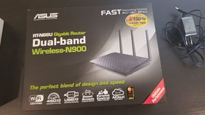 Asus RT-N66U Gigabit Router, Dual Band Wireless-N900 for Sale in Houston, TX