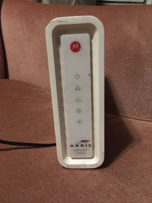 Arris Motorola surfboard cable modem for Sale in Seattle, WA