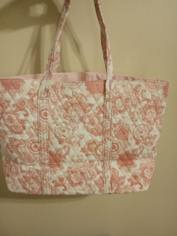 Pink & white Ralph Lauren tote bag...🌸