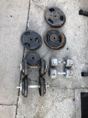 Standard weights for Sale in Anaheim, CA