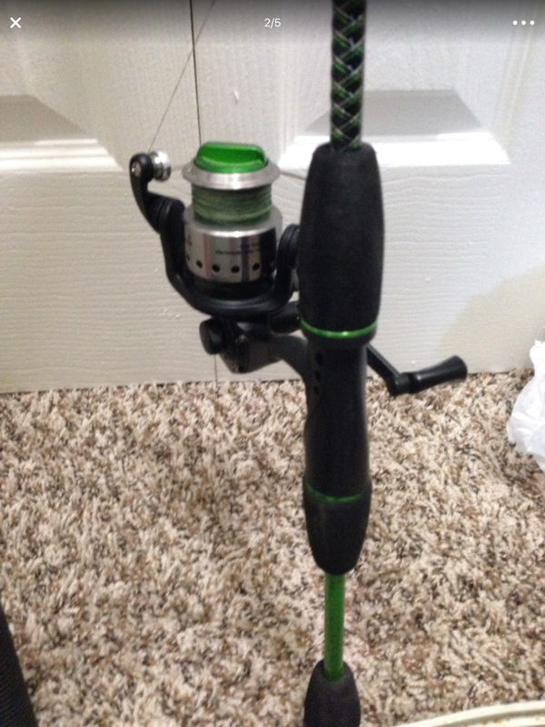 Shakespeare Fishing rod + reel