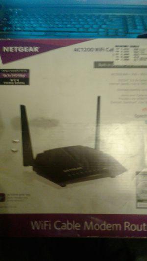 NetgearAC1200 wifi modem router for Sale in Las Vegas, NV