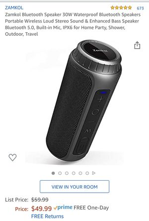 Zamkol Bluetooth Speaker - Brand New for Sale in Lynnwood, WA