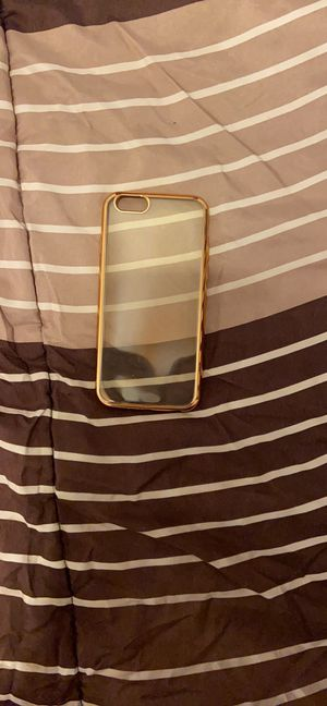 Gold rim and clear case for Sale in Midland, TX