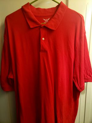 Men's Extra Large Red Polo Shirt for Sale in Norwalk, CA