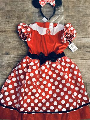 Minnie Mouse Costume - Disney Junior Minnie - Size M 8-10 •If Is Posted Is Available• for Sale in Eustis, FL