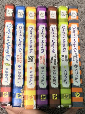 Diary of a wimpy kid books for Sale in Madera, CA