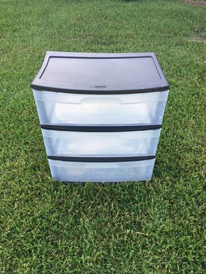 Sterilite Storage Bin-Container-Shelves 24t x 22l x 15d for Sale in Portsmouth, VA