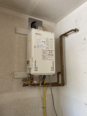 Installation of Tankless water heater for Sale in Hesperia, CA