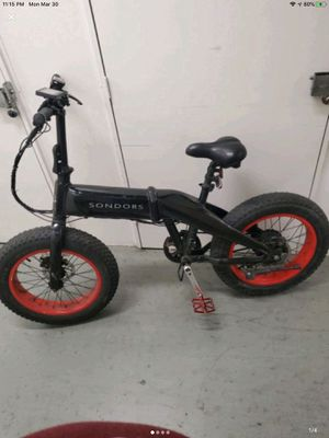 Electric Bicycle for Sale in San Francisco, CA