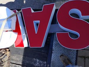We make channel letters for Sale in Athens, TX