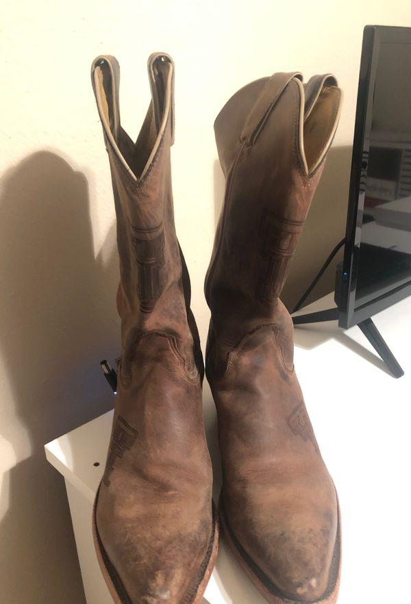Women's Size 8 Texas Tech Nocona Boots