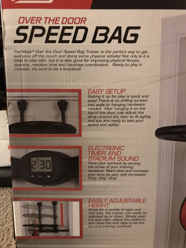 Over The Door Speed Bag
