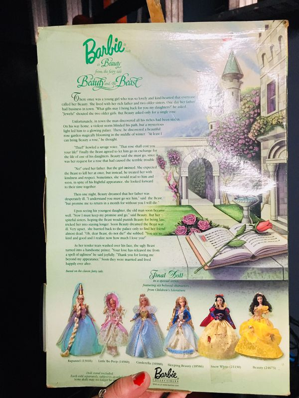 Beauty and the beast Barbie