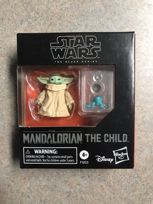 The Child (Baby Yoda) Black Series Star Wars BRAND NEW NIB SEALED Mandalorian Action Figure Collectible F1203 Hasbro Disney for Sale in Addison, TX