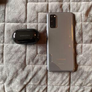 Samsung Galaxy S20 5G-Plus Galaxy Buds-Both Fully Working for Sale in Seattle, WA