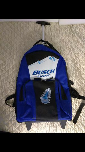 BUSCH BEER BACKPACK COOLER WHEELS for Sale in St. Louis, MO