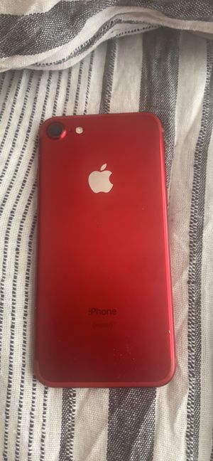 Red Iphone 7 for Sale in Littleton, CO