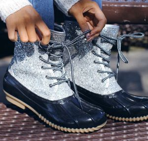 Glitter duck boots Taking pre-orders takes 2 weeks to receive Strictly shipping- free shipping for Sale in West Jefferson, OH