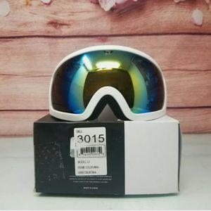 Retrospec Traverse G1 Ski, Snowboard, Snowmobile Goggles, Color White/Citrine for Sale in Westminster, CA