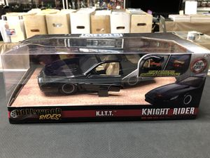 Knight Rider K.I.T.T. Hollywood Rides Metals Die Cast 1:24 Scale for Sale in La Habra, CA