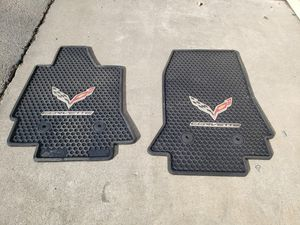 C7 Corvette Rubber Mats for Sale in Fresno, CA