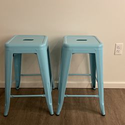 Two Metal Counter stools for Sale in Seattle,  WA