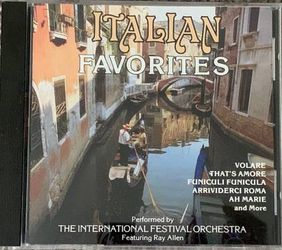 The International Festival Orchestra Italian Favorites Songs CD for Sale in Chapel Hill,  NC