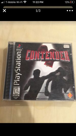Contender play station game for Sale in Santa Fe Springs, CA
