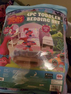 4 piece Trolls bedding set for Sale in Nashville, TN