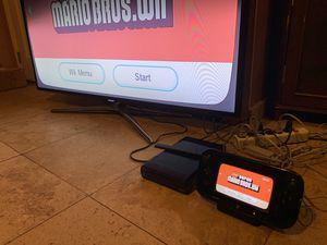 Nintendo Wii U Console - 32GB Black Deluxe Set complete system for Sale in Phoenix, AZ