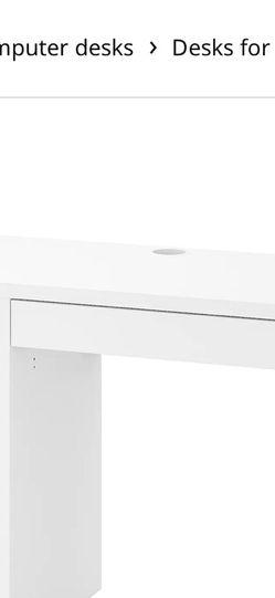White Micke Desk for Sale in East Los Angeles,  CA