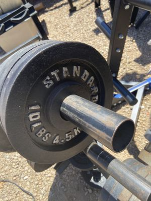 Pair of 10 lb Olympic Weight Plates for Sale in Paradise Valley, AZ