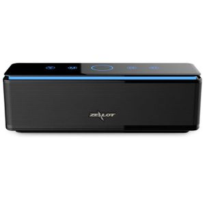 Bluetooth Speakers, ZEALOT S7 Touch Sensitive Gesture Control Quad-Driver Wireless Home Theater System with Enhanced Bass and 10000 mAh Power Bank (B for Sale in Raleigh, NC