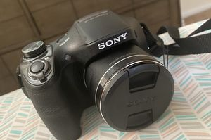 Black Sony DSC-H300 CAMERA for Sale in Hartford, CT