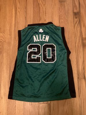 Adidas Boston Celtics Ray Allen 20 Youth Large NBA Basketball Jersey - NBA for Sale in Pelham, NH