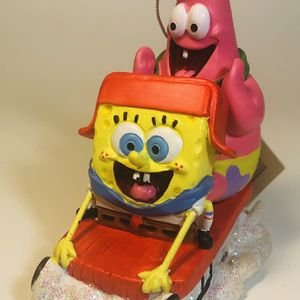 Sponge Bob & Patrick Christmas Ornament for Sale in Cleveland, OH