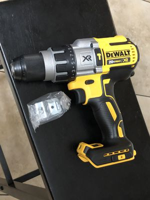 20-Volt MAX XR Lithium-Ion Cordless 1/2 in. Premium Brushless Hammer Drill (Tool-Only)🚫PRICE IS NOT NEGOTIABLE for Sale in Covina, CA