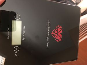 electronic kitchen scale for Sale in Tempe, AZ