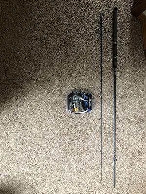 Custom made 7' spinning rod 8 to 12 lb and new Okuma avenger AV4000 for Sale in Snohomish, WA